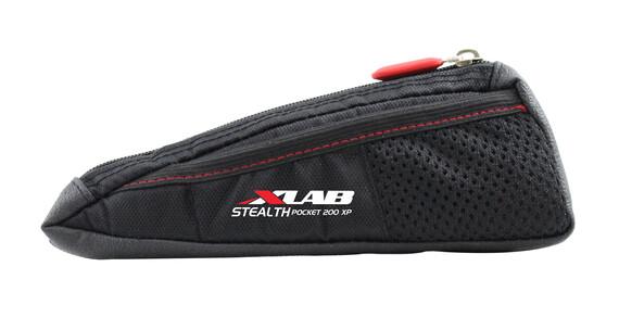 XLAB Stealth 200 XP fietstas met zijvakje zwart